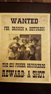 The Six Finger Drunkards